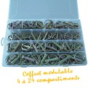 Coffret 120 goupilles clips assortiment   1135068